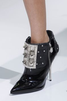 Runway Recap: The Best Shoes From Milan Fall 2013: Versace Fall 2013