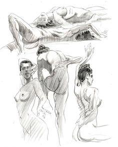 Sexy Drawings, Art Drawings Sketches, Figure Sketching, Figure Drawing, Female Drawing, Female Art, Human Anatomy Art, Cute Pokemon Wallpaper, Exotic Art