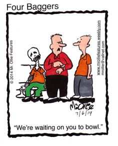 Do you have a bowling buddy who's always late? Tag them below! #GoBowling
