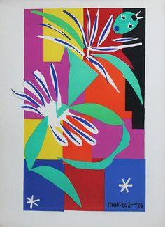 Henri Matisse Paper Cuts Outs (gouaches découpés)