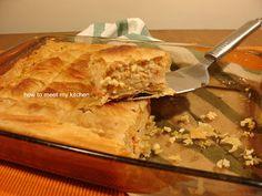 How To Meet My Kitchen: Παραδοσιακή τραχανόπιτα με σπιτικό τραχανά