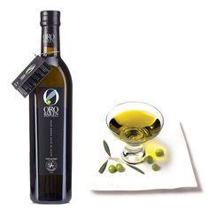 Oro Bailen Picual 500 / 750 ml.  This prestigious, award-winning extra virgin olive oil is produced in the olive groves located in the foothills of the Sierra Morena, the northern mountain range in the province of Jaén and harvested at the beginning of November
