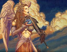 Magic Art of the Day - Archangel by rk post - Check out the owner's gallery here: