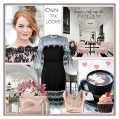 """""""Own the Looks !"""" by fantasy-rose ❤ liked on Polyvore featuring Ready2hangart, Erdem, WALL, The French Bee, Dune, Home Decorators Collection and Ilia"""
