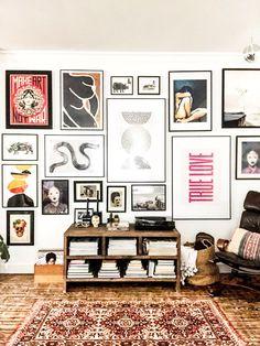 Inspiration Wand, Home Decor Inspiration, Decor Ideas, Casa Pop, Interior Simple, Interior Colors, Living Room Decor, Bedroom Decor, Deco Addict