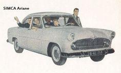 Simca Ariane, 1958