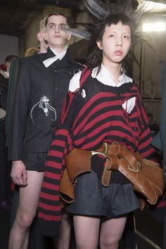 Dark Fairy Tale mood at Charles Jeffrey FW17 Show _ Fashion East _ Man _ London Collection Man