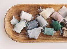 A curated collection of hand dyed ribbons with tono & co. for Utterly Engaged. Creative Inspiration, Color Inspiration, Color Pallets, Silk Ribbon, Projects To Try, Crafty, Dyed Silk, Handmade, Ribbons