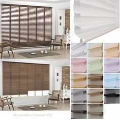 B&C NEW Triple Double Roller shade Home Window blind Luxurious Blind Custom made #BC