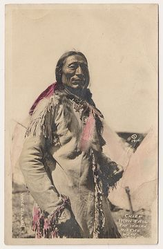 Chief Iron Tail 1914 by Yenshee Baby, via Flickr