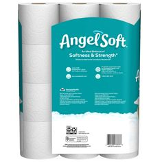 Angel Soft Toilet Paper Bath Tissue, 12 Double Rolls, Sheets Per Roll Always Pads, Lavender Scent, Household Items, Toilet Paper, Packaging Design, Cleaning Supplies, Angel, Bottle, Pesto Chicken
