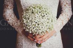 Svadobná kytica Romantická čipka