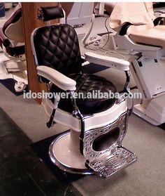 high end black red colour fashion style salon chair barber chair