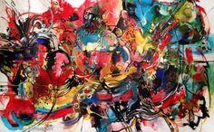 "Saatchi Art Artist Vicky Barranguet; Painting, ""Este"" #art"