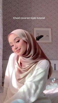 Hijab Turban Style, Mode Turban, Simple Hijab Tutorial, Hijab Style Tutorial, Hijab Casual, Ootd Hijab, Pashmina Hijab Tutorial, Head Scarf Styles, Hijab Fashion Inspiration