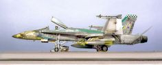 """BOEING F/A 18C HORNET """"Chippy Ho! II"""" - Academy modelkit (limited edition) scale 1:32"""