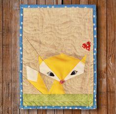 """Artisania — Lil' Fox 8"""" x 10"""" Quilt Block Pattern PDF"""