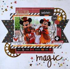 All About Scrapbooks Australia: Simple Stories Enchanted & Say Cheese II by Fiona Johnstone