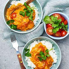 Linsgryta med kokosmjölk | Recept ICA.se Vegan Recipes Easy, Veggie Recipes, Vegetarian Recipes, Dinner Recipes, Vegan Plate, Healthy Snacks, Healthy Eating, Vegan Stew, Food Inspiration