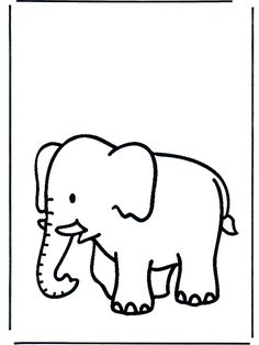 Elephant Pictures Coloring Pages | Cooloring.com