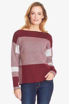 Checked CB Sweater