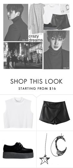 """All In--- Monsta X"" by alicejean123 ❤ liked on Polyvore featuring Monki and Chicnova Fashion"