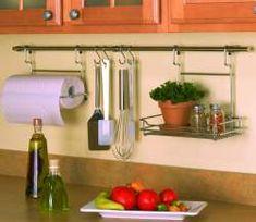 Kitchen Storage: Backsplash storage