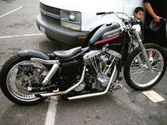 Harley Davidson News – Harley Davidson Bike Pics Harley Bobber, Bobber Motorcycle, Bobber Chopper, Girl Motorcycle, Motorcycle Quotes, Harley Davidson Chopper, Harley Davidson News, Harley Davidson Motorcycles, Vintage Motorcycles