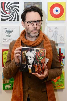 Reece Shearsmith with his Stars on Canvas | Flickr - Photo Sharing!