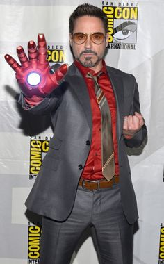 Robery Downey Jr. is sexy!