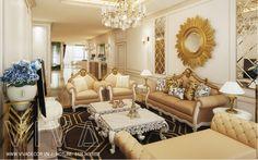 Thiết kế và thi công nội thất chung cư Mandarin Garden đẹp