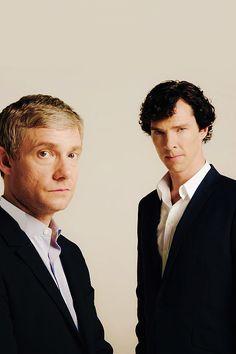 World Famous Crime Sluths! » John Watson and Sherlock Holmes » cumberbabecupcake.tumblr.com