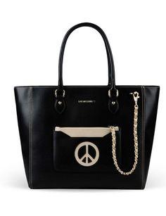 LOVE MOSCHINO Medium Fabric Bag
