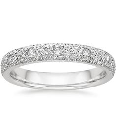 18K White Gold Cosmos Diamond Ring from Brilliant Earth