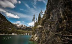 Hotel Lago di Braies - Beautiful Lago di Braies, Italy
