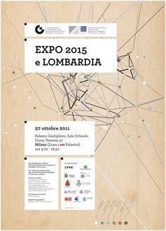 """""""Expo 2015 e Lombardia"""", 2011 - progetto grafico 46xy"""