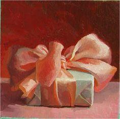 From the The French Tangerine blog: ~ presents for hillary. The  artist is Karen Appleton.