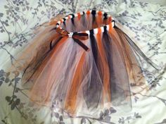 Halloween Tutu by DestinationDiva on Etsy, $20.00