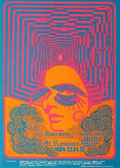 Big Brother and the Holding Company - 1967 concert poster. Artwork by Joe Gomez. Hippie Posters, Rock Posters, Band Posters, Psychedelic Rock, Psychedelic Posters, Psychedelic Artists, Kunst Inspo, Art Inspo, Vintage Concert Posters