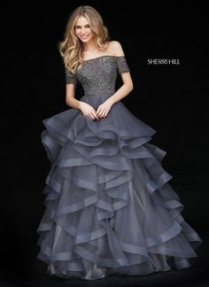Shop Prom Girl for prom dresses, prom shoes, homecoming dresses, plus size formal dresses, and evening gowns and accessories for special occasions Vestido Sherri Hill, Sherri Hill Prom Dresses, Grad Dresses, Trendy Dresses, Homecoming Dresses, Formal Dresses, Dress Prom, Prom Ballgown, Party Dresses