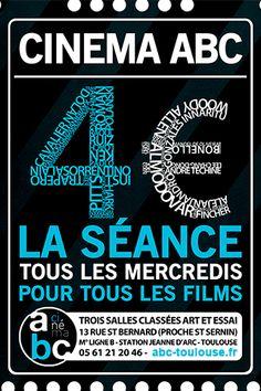 Cinéma ABC Toulouse - Le mercredi les séances sont à 4€ - Cette semaine - Événements