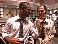 Shemar Moore and Matthew Gray Gubler (Criminal Minds)