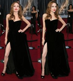 Fine, Angelina Jolie, We'll Comment on Your Shoes