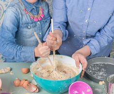 A Super Sweet Cake Recipe for Messy Bakers