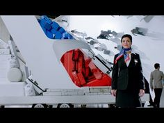 """This is """"American Airlines Safety Video - by Jon Bird on Vimeo, the home for high quality videos and the people who love them. Cabin Crew, Travel Themes, Summer Activities, Live Action, Safety, Dads, American, Youtube, Tray Tables"""