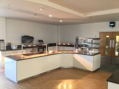 ifse design and install of main servery at derby college winter here shown l shaped heated counter comprising 2 x heated ceran sections and heated - L Shape Restaurant 2015