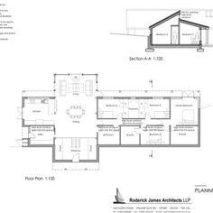 Carpenter Oak Portal Frame Floor Plan
