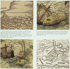 Sea Monsters on Medieval + Renaissance Maps (British Library 2013)
