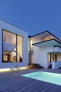 Best Ideas For Modern House Design & Architecture : – Picture : – Description The Vista House Residential Architecture, Contemporary Architecture, Interior Architecture, Minimal Architecture, Creative Architecture, Architecture Plan, Beautiful Architecture, Vista House, House Goals