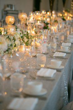 Long Wedding Table - Erin Johnson Photography